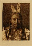 volume 3 facing: page  190 Yellow Hawk Yanktonai - photogravure plate