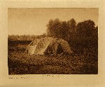 volume 4 facing: page  54 Sweat-lodge - Apsaroke - photogravure plate