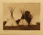 volume 4 facing: page  96 Apsaroke camp - photogravure plate