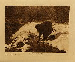 volume 4 facing: page  116 A winter day - Apsaroke - photogravure plate