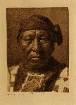volume 4 facing: page  132 Sitting Owl - Hidatsa - photogravure plate