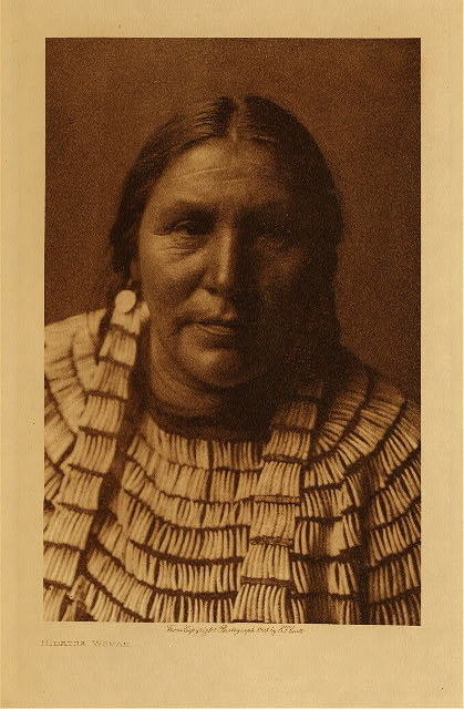 volume 4  facing: page  148 Hidatsa woman
