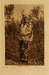 volume 4 facing: page  152 Long-time Dog - Hidatsa - photogravure plate