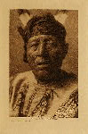 volume 4 facing: page  210 Good Bear - Hidatsa - photogravure plate