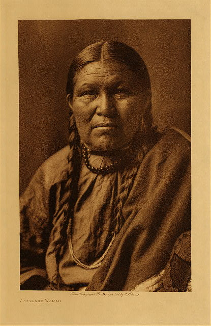 volume 6  facing: page  74 Cheyenne woman