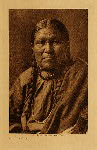 volume 6 facing: page  74 Cheyenne woman - photogravure plate