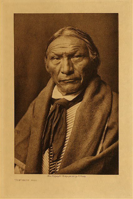 volume 6  facing: page  80 Cheyenne man