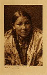 volume 6 facing: page  134 Cheyenne young woman - photogravure plate