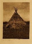 volume 7 facing: page  4 Mat lodge - Yakima - photogravure plate