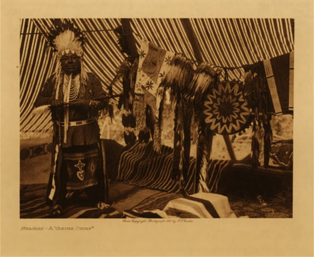 volume 7  facing: page  14 Mnainak - A Yakima chief