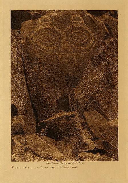 volume 8 Frontispiece Tsagiglalal, the guardian of Nihhluidih