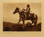 volume 8 facing: page  6 Nez Perce warrior - photogravure plate