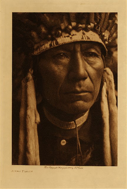 volume 8  facing: page  8 A Nez Perce