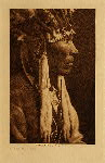volume 8 facing: page  20 Nez Perce profile - photogravure plate