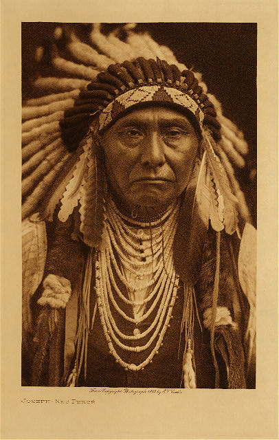 volume 8  facing: page  24 Joseph - Nez Perce