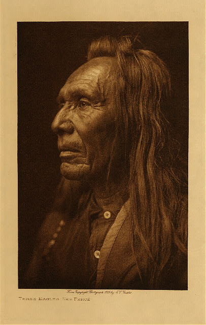 volume 8  facing: page  26 Three Eagles - Nez Perce