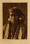 volume 8 facing: page  34 Nez Perce girl - photogravure plate