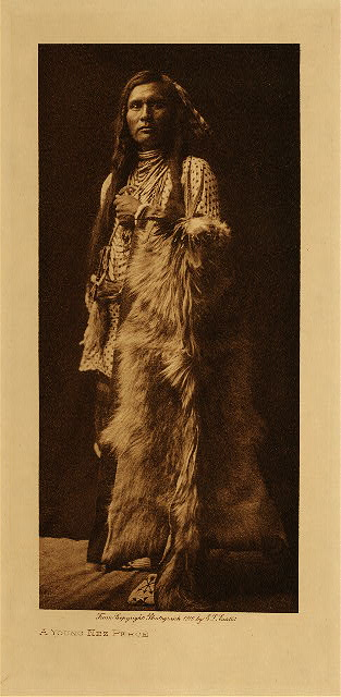 volume 8  facing: page  36 A young Nez Perce