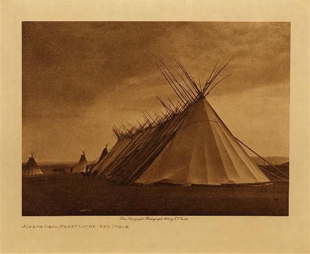 volume 8  facing: page  40 Joseph Dead Feast Lodge - Nez Perce