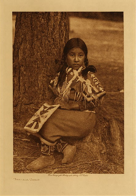 volume 8  facing: page  56 Umatilla child
