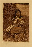 volume 8 facing: page  56 Umatilla child - photogravure plate