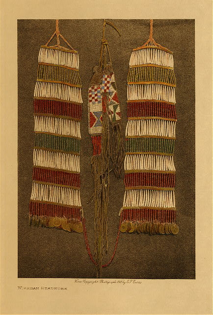 volume 8  facing: page  92 Whishham beadwork
