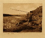 volume 8 facing: page  100 Salmon fishing - Wishham - photogravure plate