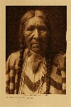 volume 8 facing: page  164 Daughter of Tamahus - Cayuse - photogravure plate