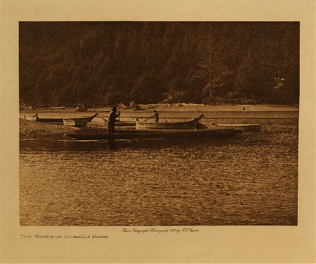 volume 9  facing: page  10 The mouth of the Quinault river