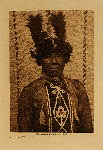volume 9 facing: page  14 Cowichan warrior - photogravure plate