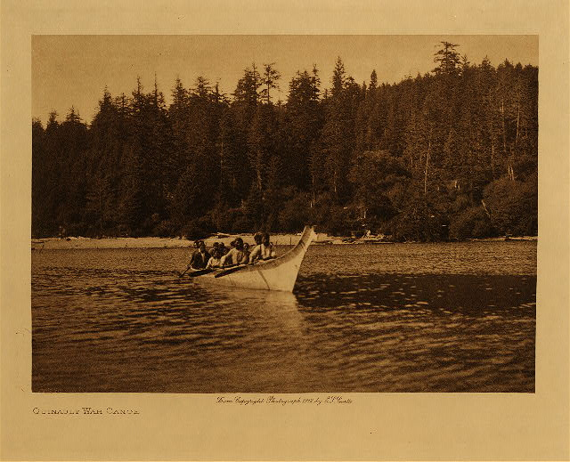 volume 9  facing: page  16 Quinault war canoe