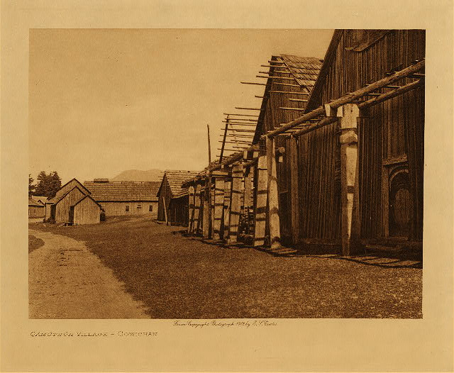 volume 9  facing: page  34 Qamutsun village  Cowichan