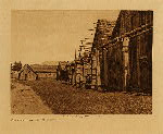 volume 9 facing: page  34 Qamutsun village  Cowichan - photogravure plate