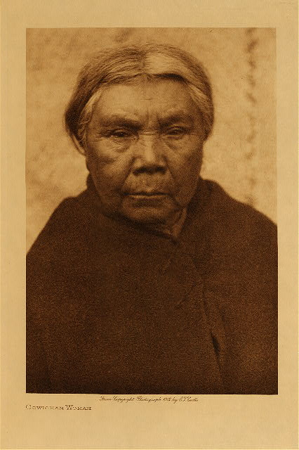 volume 9  facing: page  38 Cowichan woman