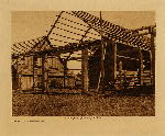 volume 9 facing: page  44 Cowichan houseframe - photogravure plate
