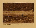 volume 9 facing: page  50 Setting the net - Quinault - photogravure plate