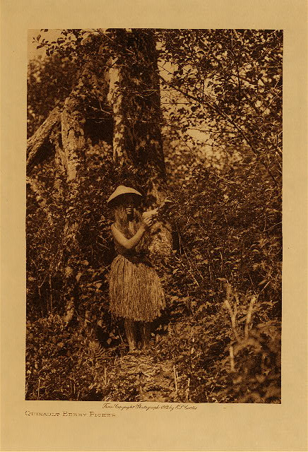 volume 9  facing: page  68 Quinault berry picker
