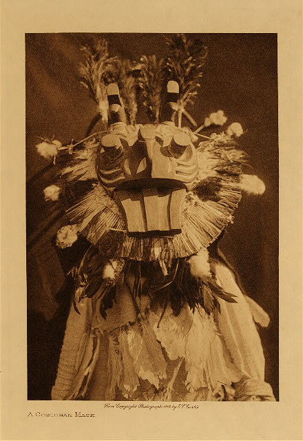 volume 9  facing: page  114 A Cowichan mask