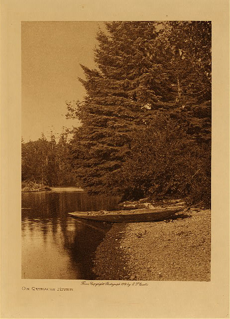 volume 9  facing: page  126 On Quinault river
