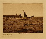 volume 10 facing: page  104 Crossing the strait - photogravure plate