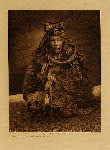 volume 10 facing: page  194 A Hamatsa costume - Nakoaktok - photogravure plate