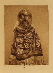 volume 10 facing: page  244 A Tluwulahu costume - Qagyuhl - photogravure plate