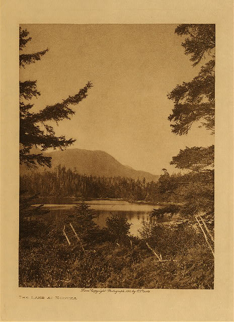 volume 11  facing: page  10 The lake at Nootka