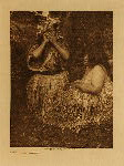 volume 11 facing: page  56 Shaman and patient - photogravure plate