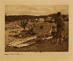 volume 11 facing: page  76 Halibut fishers : Neah Bay - photogravure plate