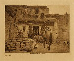 volume 12 facing: page  12 A visitor - photogravure plate
