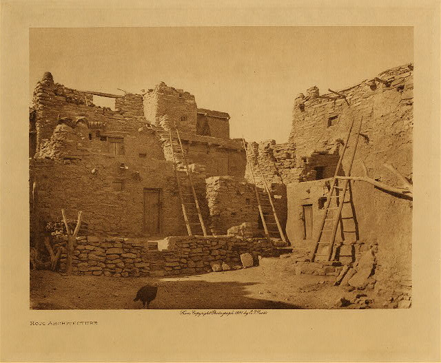 volume 12  facing: page  20 Hopi architecture