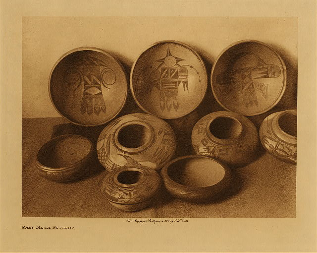 volume 12  facing: page  26 East Mesa pottery