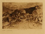 volume 12 facing: page  38 A cave at Middle Mesa - photogravure plate