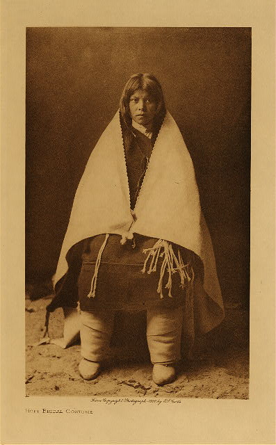 volume 12  facing: page  40 Hopi bridal costume